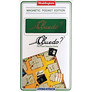 Cluedo Magnetic Pocket Edition!