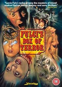 Fulci Box of Terror (New York Ripper, Manhattan Baby and Black Cat) [DVD] + Booklet [Edizione: Regno Unito]