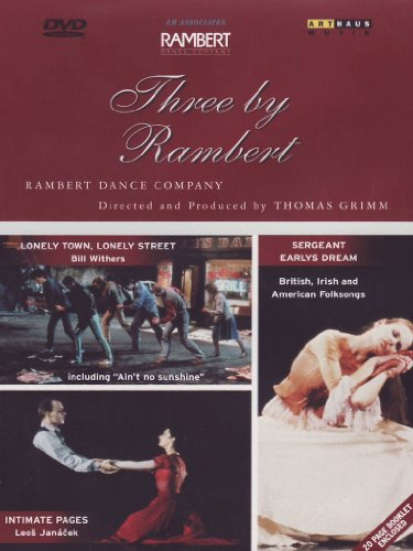 Three By Rambert [DVD] [1986] [2002]