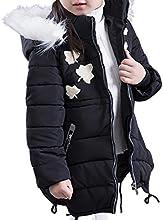 JiaYou Child Kid Girl Down Alternative Puffer Hooded Bubble Jacket Coat