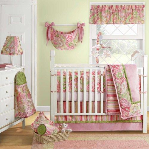 Paisley Crib Bedding Sets 6794 front