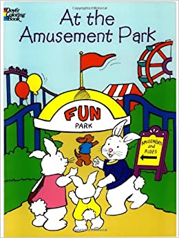 at the amusement park dover coloring books