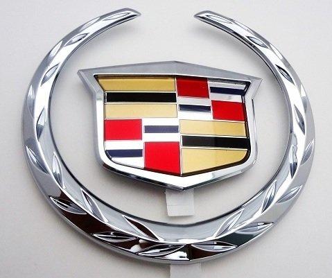 NEW Cadillac SRX 2010 2011 2012 2013 2014 2015 2016 Grille WREATH /& CREST Emblem