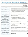 img - for Religious Studies Review: Volume 28, Number 1, January 2002 (A Quarterly Review of Publications in the Field of Religion and Related Disciplines) book / textbook / text book