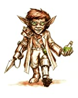 Stonehaven Gnome Mad Scientist Miniature