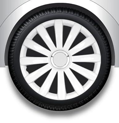 Radkappen/Radzierblenden 17 Zoll Spyder pro white von octimex - Reifen Onlineshop
