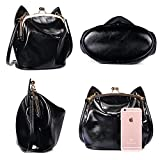 Girls-Cute-Cat-Ear-Shoulder-Bag-Soft-Leather-Crossbody-Bags-For-Teens-Black-LMF