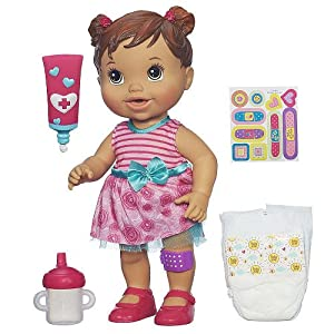 Amazon Com Baby Alive Baby Gets A Boo Boo Doll Toys Amp Games