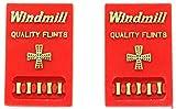 WINDMILL ウインドミル フリント ライター用 着火石 2シートセット 純正品 888-0002