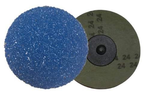 Shark 3230Zgt 2-Inch Grit-36 Resin Fiber Zirconia Grinding Discs, 25-Pack