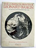 img - for The Complete Prints of Leonard Baskin: A Catalogue Raisonne 1948-1983 book / textbook / text book