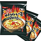 Habanero Ramyun 3ea Ramen Korean Spicy Noodles Super Spicy Ramen