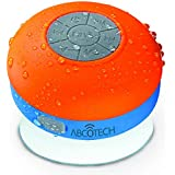 Bluetooth Shower Speaker - FM RADIO - Water Resistant - Wireless and Hands-Free speaker phone with Suction Cup - Auto Pairing Feature - Compatible with all Bluetooth devices