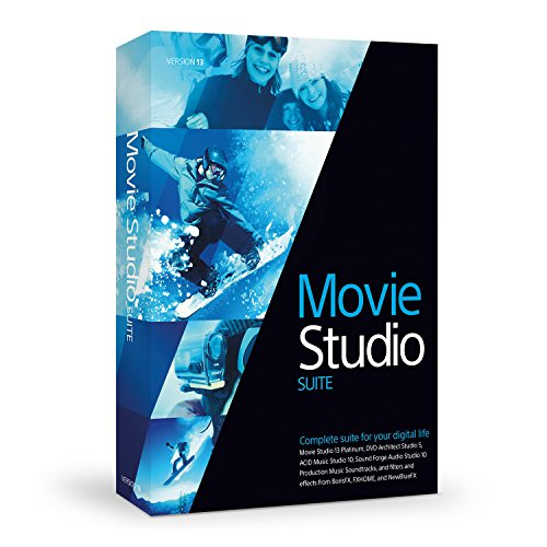 Sony Movie Studio 13 Suite (Sony Movie Studio Platinum 10 compare prices)