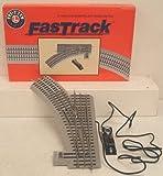 "O FasTrack 36"" Remote LH Switch Lionel Trains"