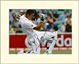 KEVIN PIETERSEN ENGLAND CRICKET UNION SIGNED AUTOGRAPH PHOTO PRINT IN MOUNT