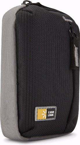 Case Logic TBC-302BLACK Black Ultra-Compact Camera Case With Storage
