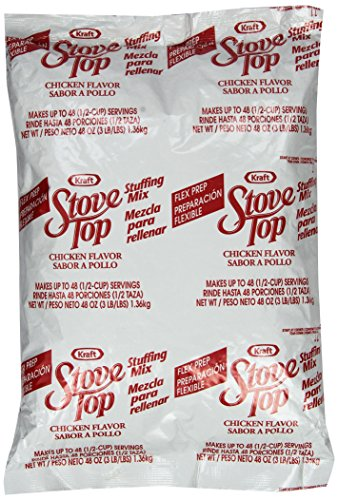 Stove Top Stuffing Mix, Chicken, 48 Ounce (Chicken Stuffing compare prices)