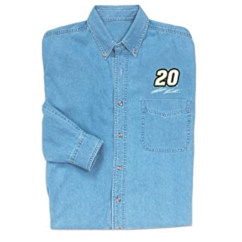 Matt Kenseth NASCAR Long Sleeve Denim Shirt by Checkered Flag