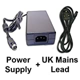 Power Supply + Mains Cable for Sanyo CE 19LD86DV-B