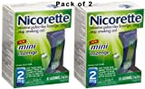 Nicorette Stop Smoking Aid Mini Lozenges 2 mg Mint 81.0 ea.more (Quantity of 2)