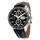 TAG Heuer Men's CV2A1R.FC6235 Analog Display Swiss Automatic Black Watch