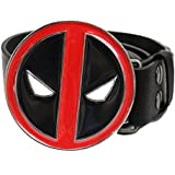 Deadpool Cosplay Belt with Metal Buckle Halloween Costume