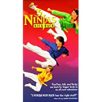 3 Ninjas Kick Back [VHS]