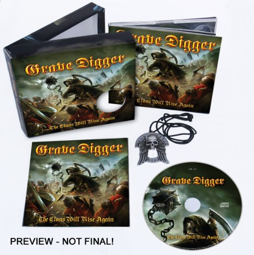 GRAVE DIGGER THE CLANS WILL RISE AGAIN (DELUXE+ANHÄNGER)
