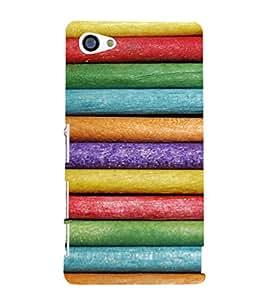 EPICCASE Colorpencils Mobile Back Case Cover For Sony Xperia Z5 Mini / Z5 Compact (Designer Case)