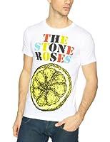 The Stone Roses Logo Lemon Multicolour Men's T-Shirt