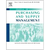Risk-based classification of supplier relationships [An article from: Journal of Purchasing and Supply Management...