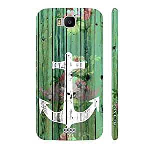 Enthopia Designer Hardshell Case Achor Art Back Cover for Huawei Honor Bee
