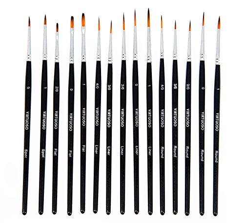 virtuoso-15-piece-fine-paintbrushes-handmade-detail-paint-brush-set-for-acrylic-watercolor-oil-inclu