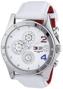 Tommy Hilfiger 1780931 - Reloj de mujer de cuarzo, correa de piel color blanco