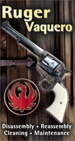 Ruger Vaquero: Disassembly, Reassembly, Cleaning & Maintenance w/ Master Gunsmith Larry Crow [VHS]