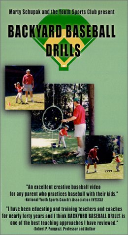 Little League Coaching:Backyard Baseball Drills [VHS]