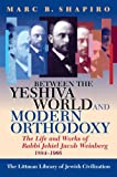 Between the Yeshiva World and Modern Orthodoxy: The Life and Works of Rabbi Jehiel Jacob Weinberg, 1884-1966 (1874774919) by Shapiro, Marc B.
