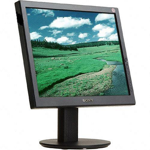 "Sony Sdm-S53/B 15"" Lcd Monitor With Ergostand"