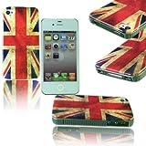 UNION JACK ENGLAND FLAG HARD BACK CASE COVER FOR APPLE I PHONE 4 4G 4S