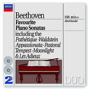 Beethoven Favourite Piano Sonatas from Decca (UMO)