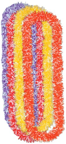 Soft-Touch Poly Leis (asstd colors)    (4/Bundle)