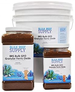 Bulk Reef Supply BRS GFO Granular Ferric Oxide 2.0 lbs