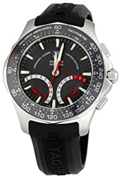 Tag Heuer Men s CAF7113FT8010 Carrera Grey Dial Watch