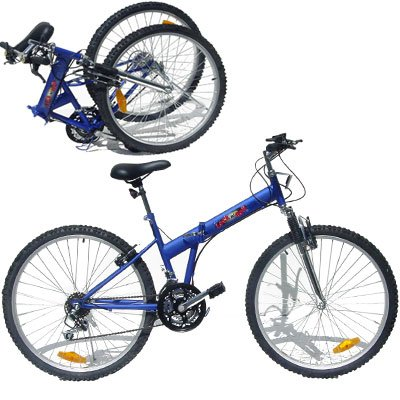 18 Speed Folding Mountain Bike 26