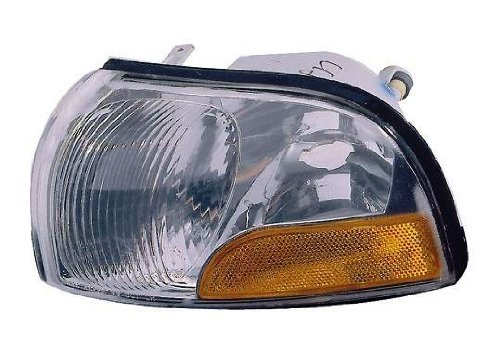 Depo 315-1533L-US Nissan Quest/Mercury Villager Driver Side Replacement Parking/Side Marker Lamp Unit without Bulb Style: Driver Side (LH)