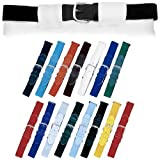 Champion Sports Youth Elastic Uniform Belts, sized 18-32