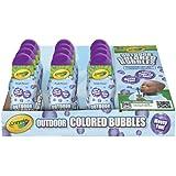 Crayola Outdoor Washable Colored Bubbles 7.5oz