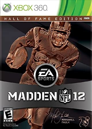 Madden NFL 12 Hall of Fame Edition