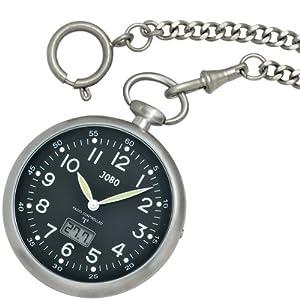 Jobo Radio Controlled Dcf Clock With Digital Watch Date